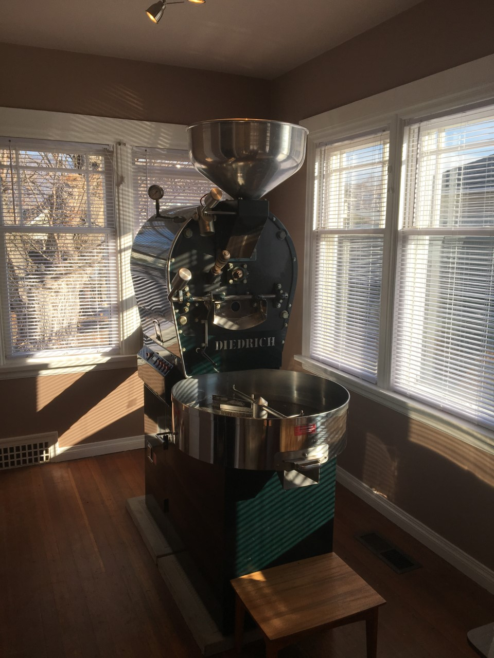 Diedrich IR-7 Coffee Roaster